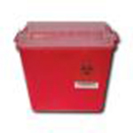 2 gallon horizontal sharps container