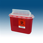 BD 5.4 quart replacement sharps box