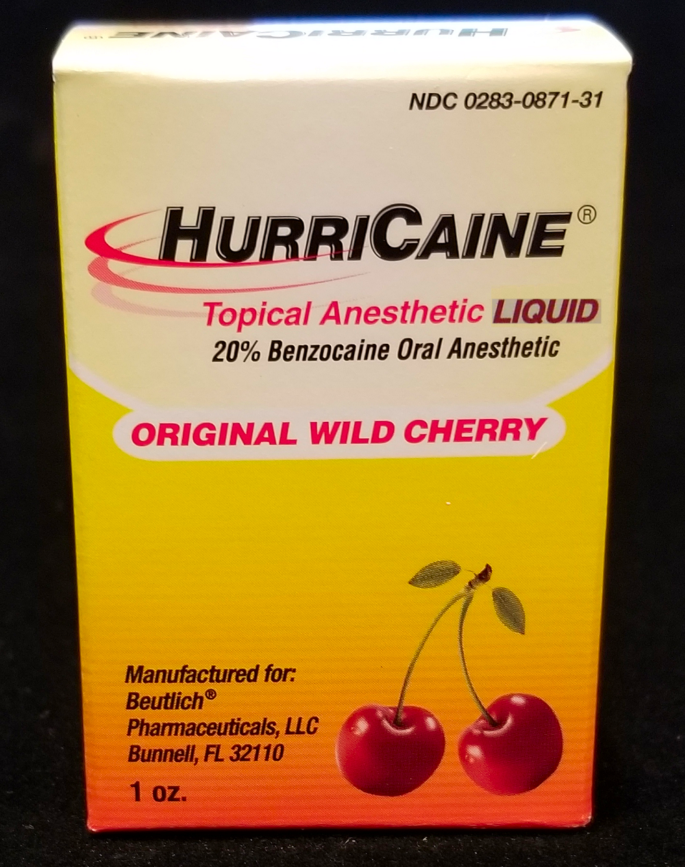 Hurricaine Liquid Anesthetic