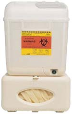 BD Wallmate 5.4 quart sharps disposal starter system
