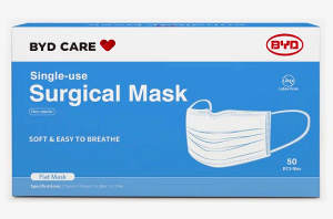 BYD Care Face Masks