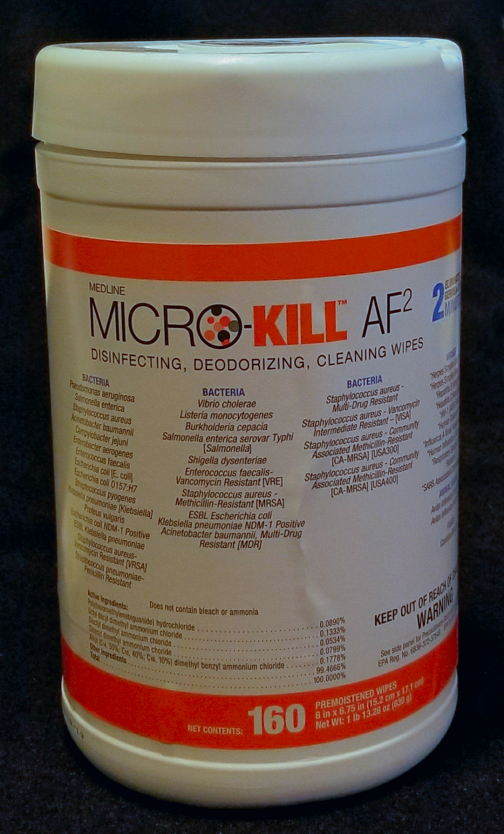 Micro-Kill AF2 Disinfecting Wipes