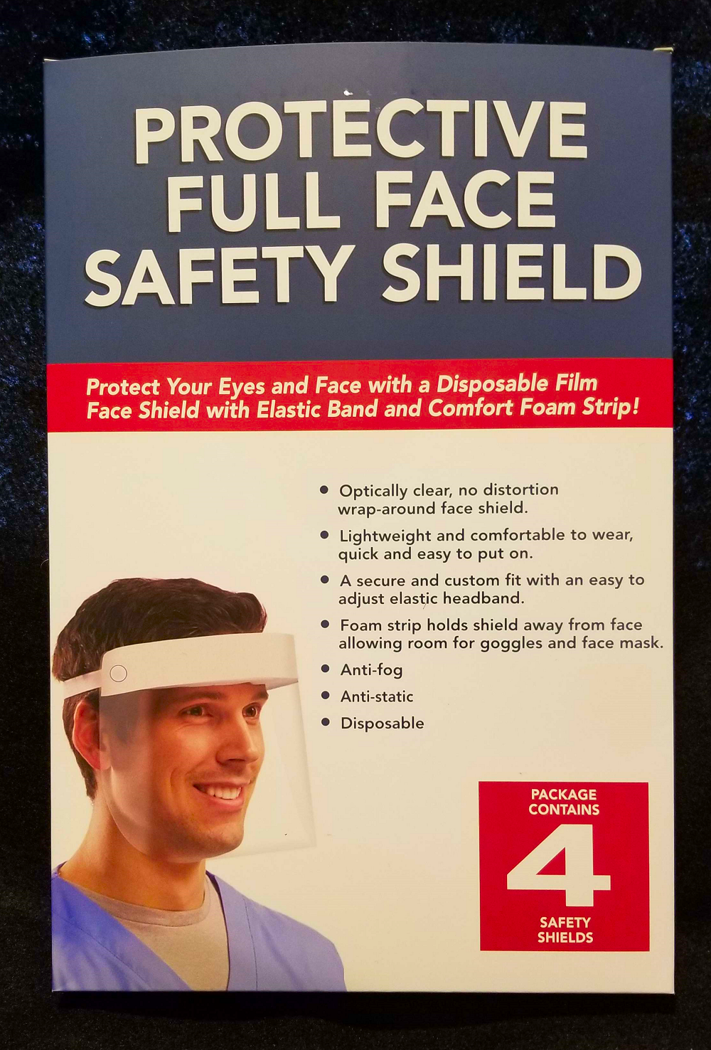 Full Face Safety Shield