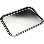 Instrument Tray - Stainless Steel - Flat - Large