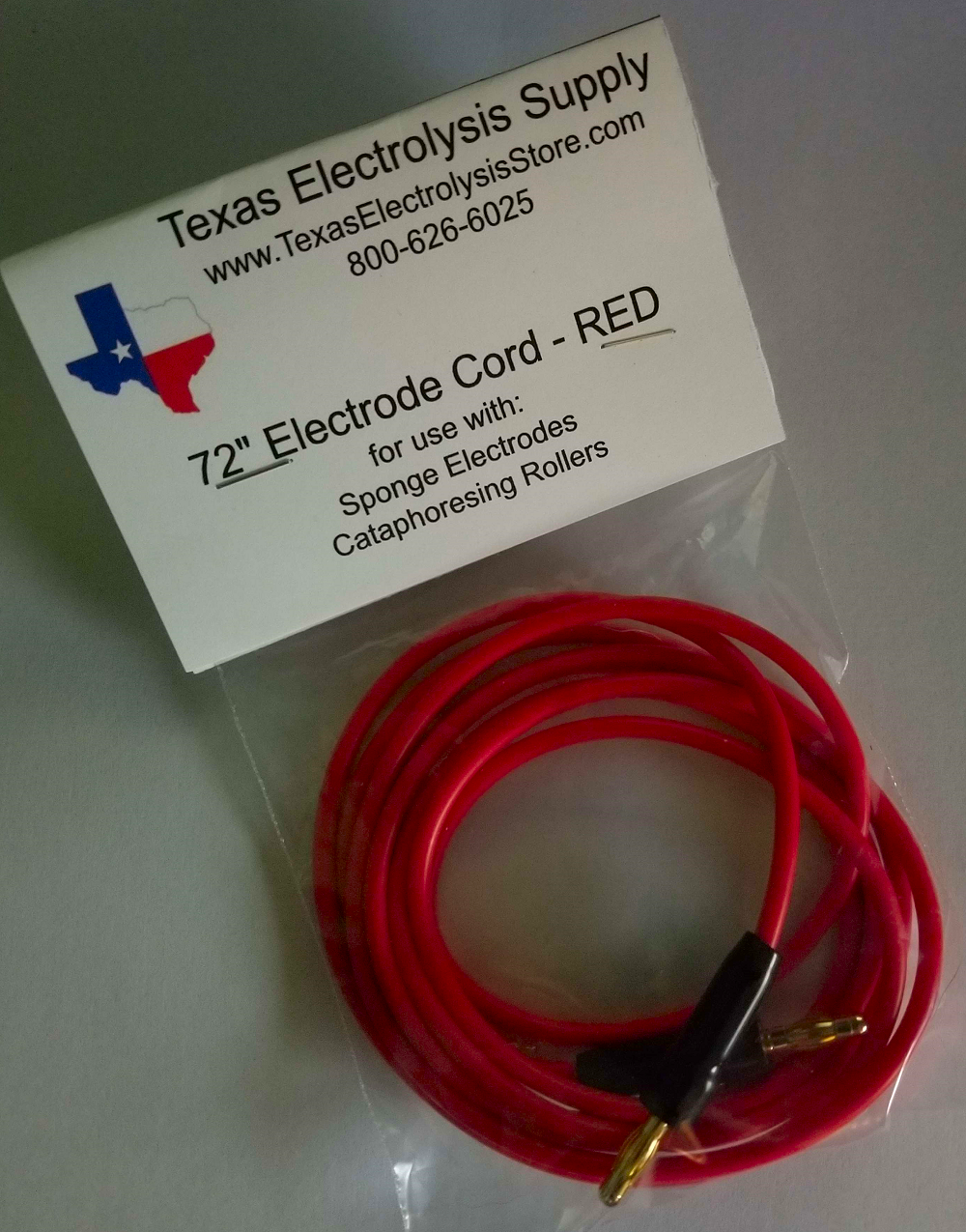 Electrode Cord - RED