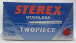 Sterex F10 Regular 2 Piece Stainless Steel