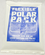 "6"" x 6"" Flexible Ice Pack - Reusable"