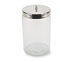 3X3 Jar with Stainless Steel Lid