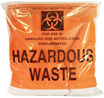 Red Biohazard Autoclave Bag