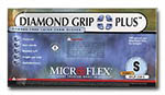 Diamond Grip Latex Powder-Free Gloves - Small