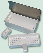 Germicide Tray with Small Lower Tray