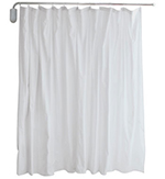Retractable Privacy Curtain