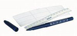 Accu-Line Skin Pen w/Ruler Separate