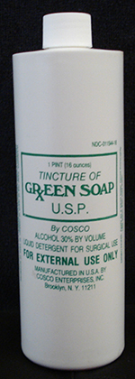 Tincture Green Soap - 1 Pint