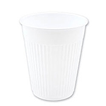 White 5 Ounce Plastic Cups