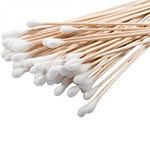 "3"" Wooden Cotton Tipped Applicators"